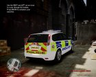 Ford Focus Estate '09 police UK. for GTA 4 rear-left view