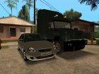 Пак качественных русских и украинских машин для GTA San Andreas вид изнутри