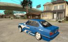 BMW E34 Drift for GTA San Andreas rear-left view