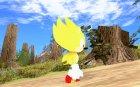 Super Sonic Classic для GTA San Andreas вид сзади слева