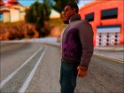 Johnny Gat From Saints Row для GTA San Andreas вид слева