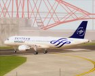 Airbus A320-200 Air France Skyteam Livery for GTA San Andreas side view