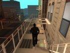 Осязаемые лестницы для GTA San Andreas вид сверху