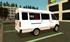 """ГАЗ-3221-288 """"ГАЗель-Бизнес"""" for GTA San Andreas rear-left view"""