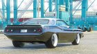 Plymouth Barracuda - Fast 7 1.0 for GTA 5 top view
