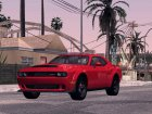 2017 Dodge Challenger Demon для GTA San Andreas вид сзади слева