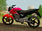Honda Twister CBX 250 2014 for GTA San Andreas back view