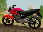Honda Twister CBX 250 2014 для GTA San Andreas вид сзади