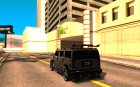AMG H2 HUMMER Jvt's HARD exclusive TUNING для GTA San Andreas вид сзади слева