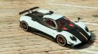 Pagani Zonda Cinque for GTA 5 top view