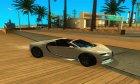 Bugatti Chiron Spyder 2017 для GTA San Andreas вид слева