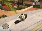 Panzercycle From Mercenaries 2 World in Flames для GTA San Andreas вид сзади слева
