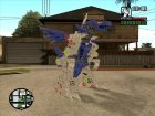 Fuzor Dragon (Zoids) для GTA San Andreas вид слева