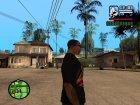Футболка с логотипом игры Stalker for GTA San Andreas left view