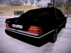 "Mercedes-Benz W140 400SE ""Депутат"" for GTA San Andreas rear-left view"