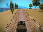 Бронетранспортёр M113 для GTA San Andreas вид сверху