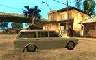 ГАЗ 24-12 для GTA San Andreas вид изнутри