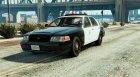 Police Crown Victoria Federal Signal Vector