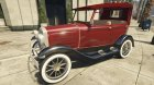Ford T 1927 Tin Lizzie для GTA 5 вид слева