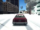 Winter ENB version (Low PC) для GTA San Andreas вид сбоку