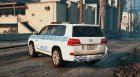 Toyota Land Cruiser NSW Police for GTA 5 left view
