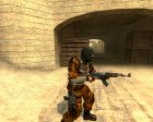 Phoenix Camo Reskin for Counter-Strike Source left view
