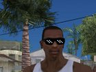Pixel Glasses для GTA San Andreas вид сверху