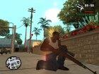 Пак качественного оружия для GTA San Andreas вид сзади слева