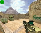 Лазерный Minigun for Counter-Strike 1.6 left view