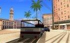 Веселый трамвайчик для GTA San Andreas вид сзади слева