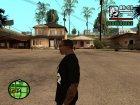 Футболка Let 4 Dead 2 для GTA San Andreas вид сзади слева