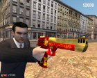 Новогодний Desert Eagle для Mafia: The City of Lost Heaven вид сбоку