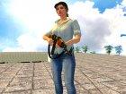 AK-47 с ремешком for GTA San Andreas left view