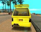 Daihatsu Espass Angkot YRT for GTA San Andreas top view
