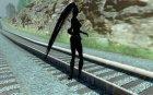 Dark knight for GTA San Andreas rear-left view