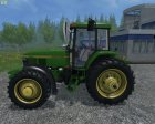 John Deere 7810 for Farming Simulator 2015 top view