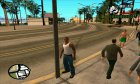Avatar PED by PXKhaidar для GTA San Andreas вид сзади слева
