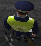 Инспектор ДПС в форме старого образца for GTA San Andreas top view