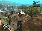 Пак оружия  Fulmicotone для GTA San Andreas вид сверху