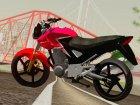 Honda Twister CBX 250 2014 для GTA San Andreas вид сверху
