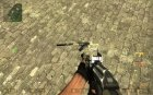 Darkness Device Sand Camo AK-47 for Counter-Strike Source top view