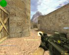 CoD4 Style M4A1 for Counter-Strike 1.6 rear-left view