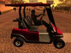 GTA 5 Caddy for GTA San Andreas left view