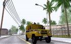 УАЗ 3151 Милиция для GTA San Andreas вид изнутри
