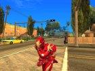Железный человек mark 46 Противостояние v3 for GTA San Andreas rear-left view