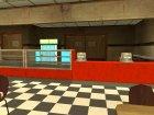 Кафе на Гроув Стрит для GTA San Andreas вид сзади слева