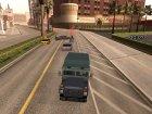 Работать водителем инкассаторских фургонов v0.1 для GTA San Andreas вид сзади слева