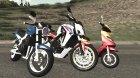 Полная замена мото-транспорта для GTA San Andreas