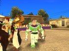 Персонажи мультфильмов для GTA San Andreas вид справа