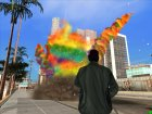 Rainbow Effects for GTA San Andreas left view